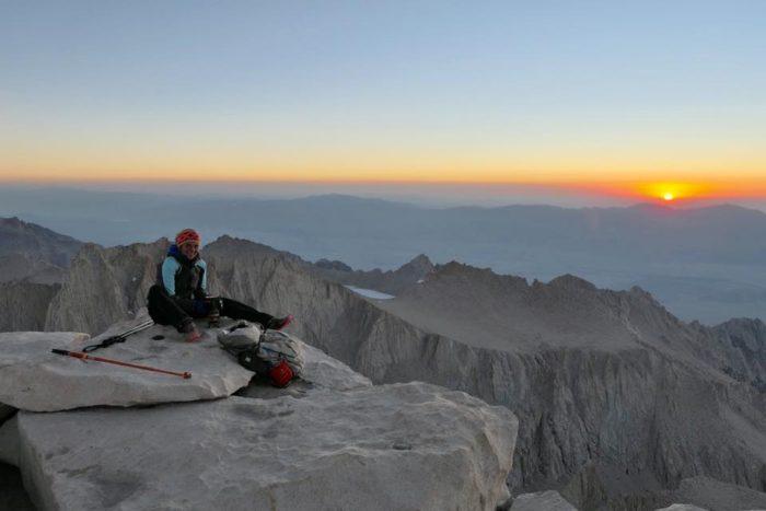 3 juillet **Kennedy Meandows – Mont Whitney 4420 m d'altitude**
