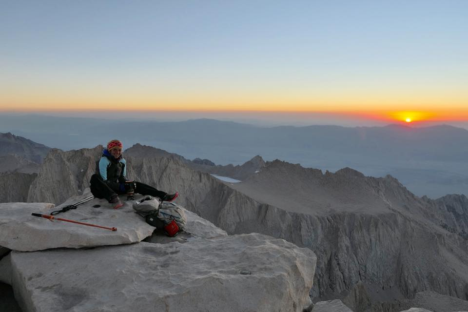 3 juillet **Kennedy Meandows – Mont Whitney 4420 m d'altitude**