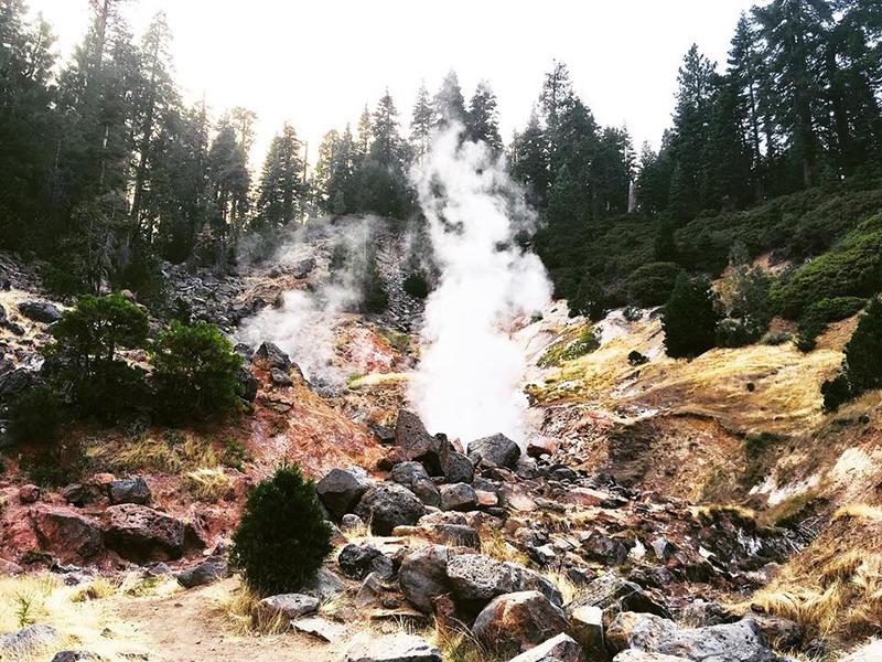 31 juillet km2416 **Mount Shasta North California – Lassen Volcanic National Park**