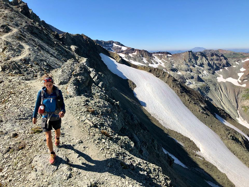 29 août km3693 **Cascades Locks – White Pass Indian Haven – Mont Adams – Goat Rocks Wilderness**