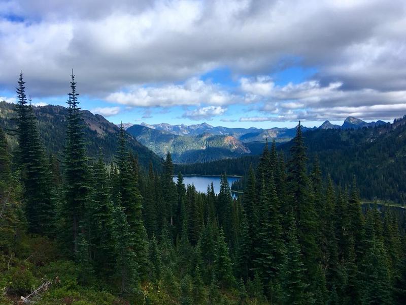 3 septembre km3851 **Mont Rainier National Park – Norse Peak Wilderness**